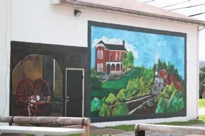 Murals Across from the B&O Depot image. Click for full size.