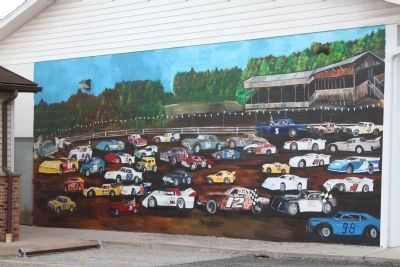 Mural Across from the B&O Depot image. Click for full size.