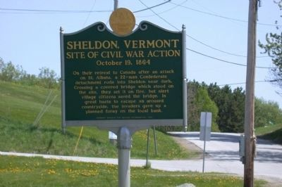 Sheldon, Vermont Marker image. Click for full size.