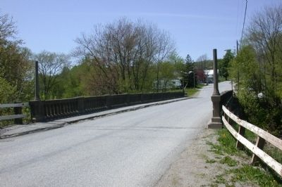 Site of Sheldon Covered Bridge image. Click for full size.