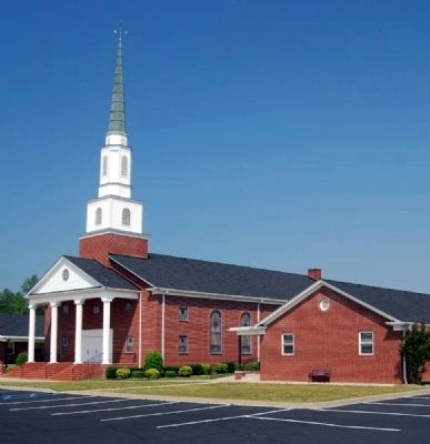 Arrowood Baptist Church image. Click for full size.