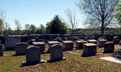 Ridge Spring Cemetery -<br>Watson Section image. Click for full size.