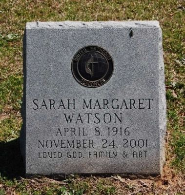 Sarah Margaret Watson image. Click for full size.