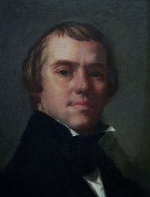 William Harrison Scarborough<br>1812-1871<br>Self Portrait image. Click for full size.