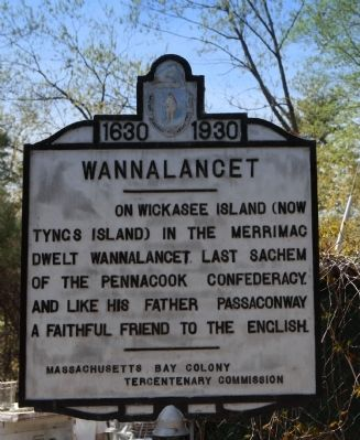 Wannalancet Marker image. Click for full size.