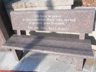 New Haven Veterans' Memorial Marker image. Click for full size.