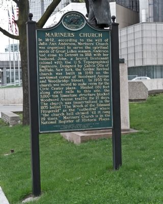 Mariners' Church Marker image. Click for full size.