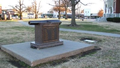 McCook Post No. 34 G.A.R. Civil War Memorial image. Click for full size.