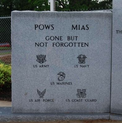 Enoree Community Veterans Memorial -<br>Left Inscription image. Click for full size.