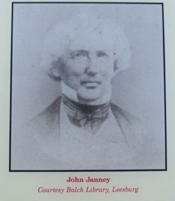 Portrait of John Janney image. Click for full size.