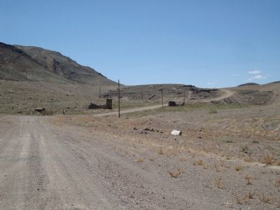 Remains of Candelaria, seven miles west of marker image. Click for full size.
