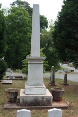"Memory Hill Cemetery , ""Our Unknown Confederate Dead"" image. Click for full size."