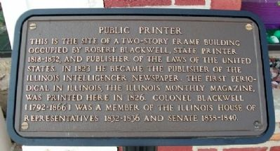 Public Printer Marker image. Click for full size.