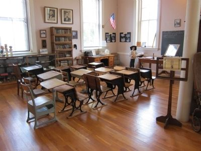 Schoolhouse Classroom image. Click for full size.