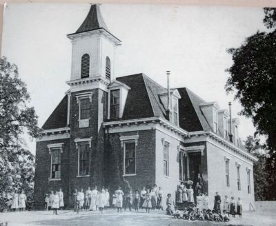 Lower Lake Schoolhouse in 1902 image. Click for full size.