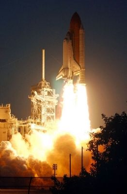 STS 108 Launch image. Click for full size.