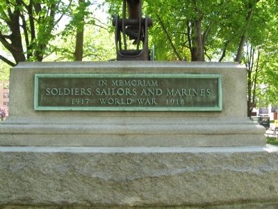 White Plains World War I Memorial image. Click for full size.