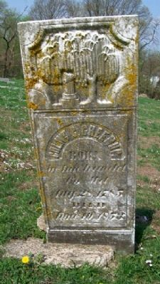 William C. Greenup Grave Marker image. Click for full size.