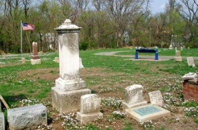 Ferdinand Ernst Marker and Gravesite image. Click for full size.