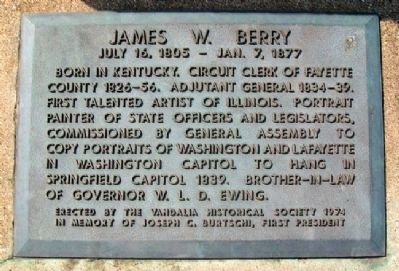 James W. Berry Marker image. Click for full size.