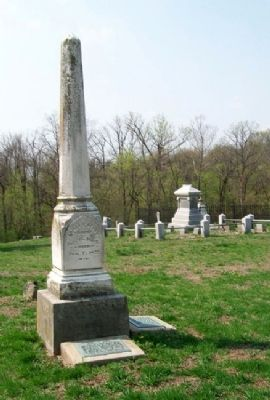 James W. Berry Marker & Gravesite image. Click for full size.
