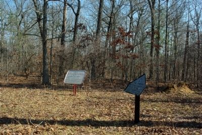 Camp of 11th Illinois Infantry Marker image. Click for full size.