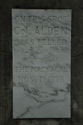 Colonel Elden Felled Marker image. Click for full size.