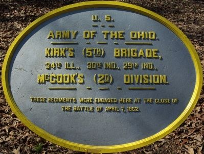 Kirk's Brigade Marker image. Click for full size.