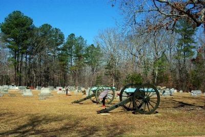 Bankhead's Tennessee Battery, 11th Louisiana Infantry Marker image. Click for full size.