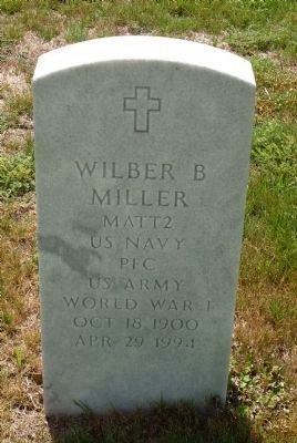 Wilber B. Miller image. Click for full size.