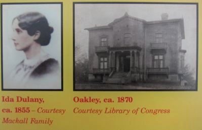 Ida Dulany and Oakley image. Click for full size.
