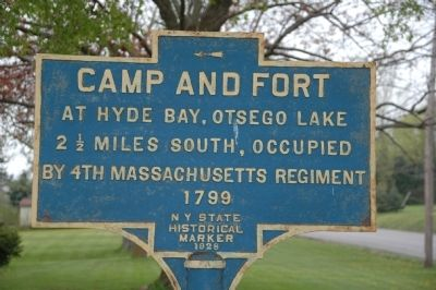 Camp and Fort Marker image. Click for full size.