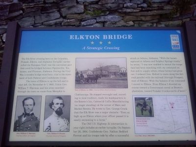 Elkton Bridge Marker image. Click for full size.