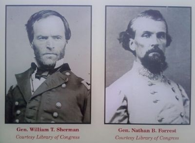 Gen's Sherman and Forrest image. Click for full size.