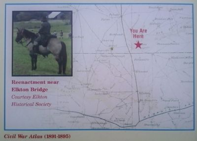 detail from Elkton Bridge Marker image. Click for full size.
