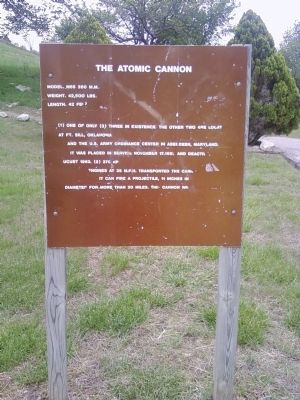 The Atomic Cannon Marker image. Click for full size.