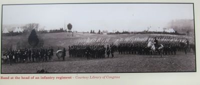 Band at the Head of an Infantry Regiment image. Click for full size.