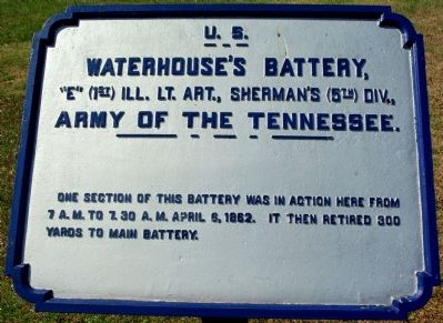 Waterhouse's Battery Marker image. Click for full size.