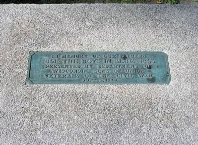 Plaque on Bench image. Click for full size.