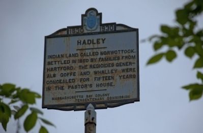 Hadley(Northampton Town Line) Marker image. Click for full size.
