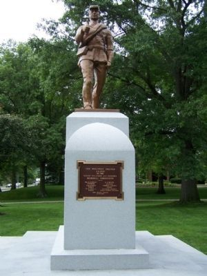 Union Civil War Monument , east side image. Click for full size.