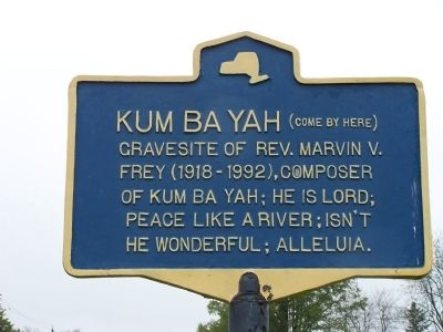 KUM BA YAH (Come By Here) Marker image. Click for full size.