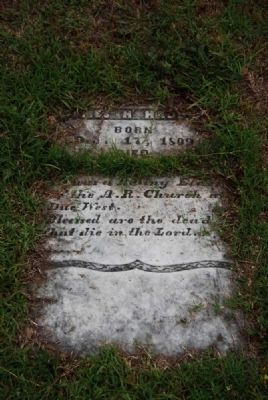 James H. Haddon Tombstone<br>Due West A.R.P. Church Cemetery image. Click for full size.