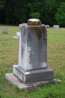 Emma Pressly Tombstone<br>Due West A.R.P. Church Cemetery image. Click for full size.