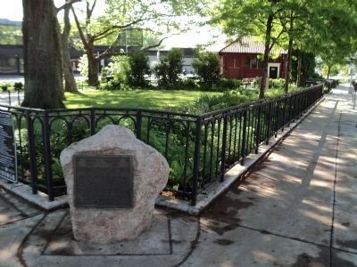 Marker at Tompkinsville Park image. Click for full size.