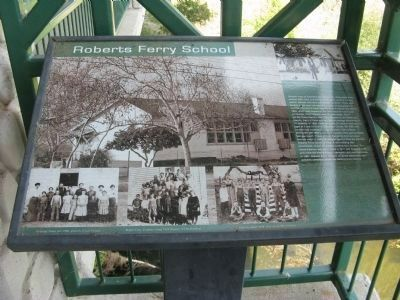 Roberts Ferry School image. Click for full size.