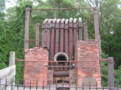 At the top of the Iron Furnace image. Click for full size.
