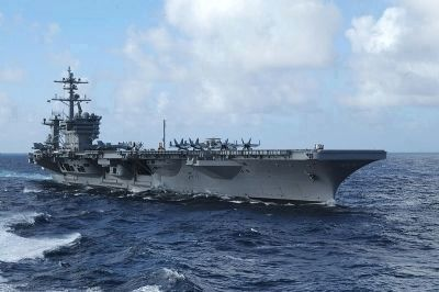USS Carl Vinson image. Click for full size.