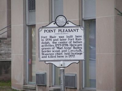 Point Pleasant Marker image. Click for full size.