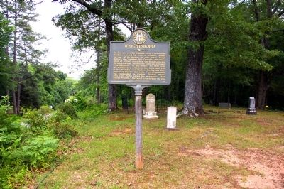 Wrightsboro Marker image. Click for full size.